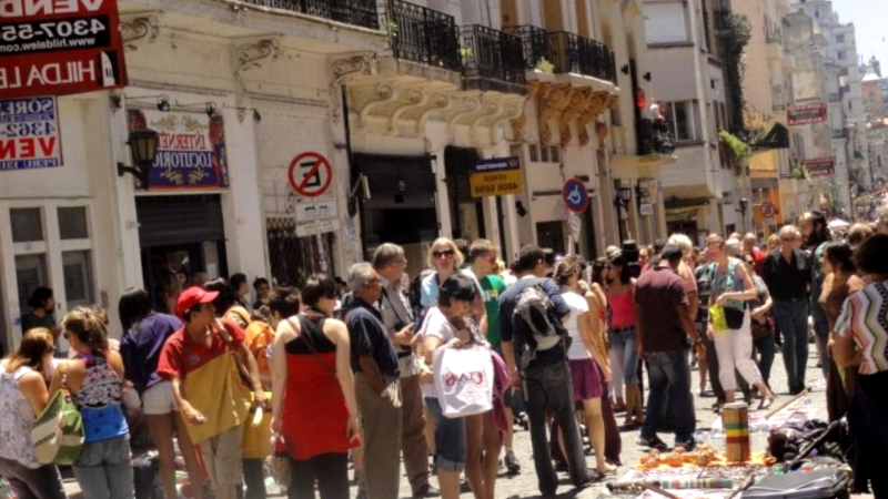Feria de San Telmo que ver