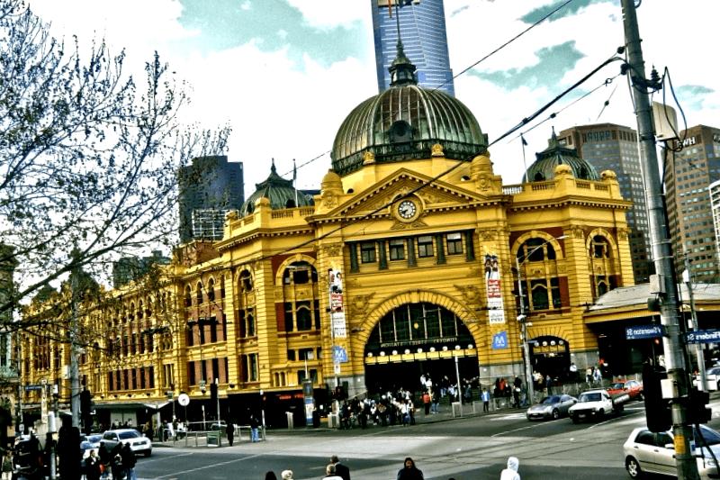 Flinders Street Station que descubrir