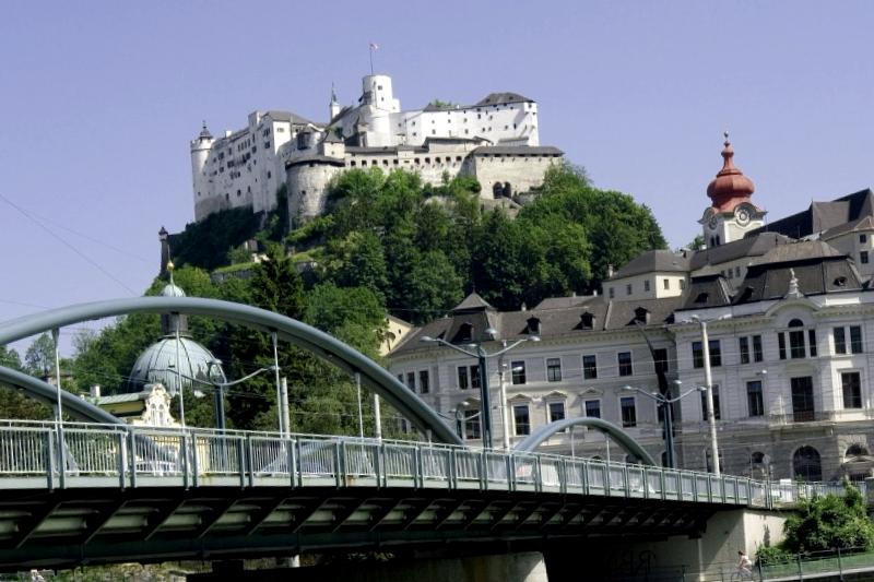 Ver Austria y descubrir de Fortaleza de Hohensalzbourg