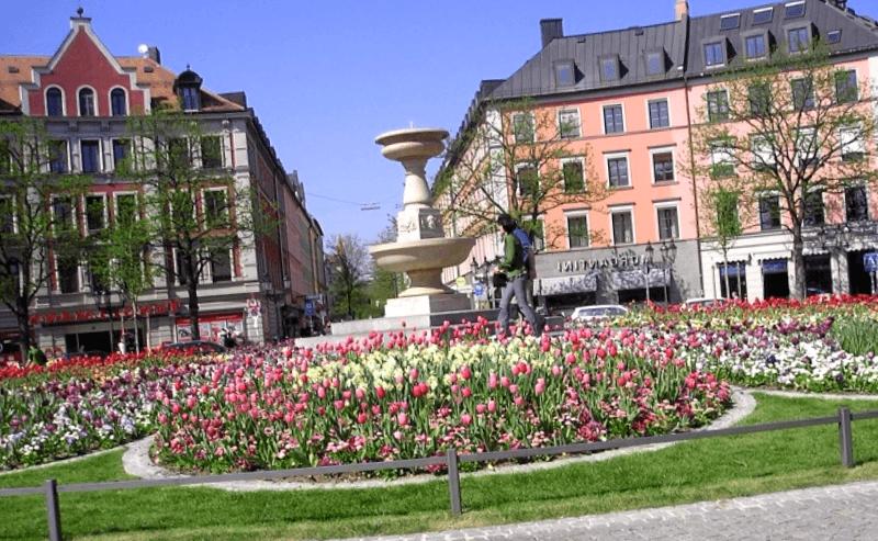 Ver Alemania y maravillarse de Gartnerplatz