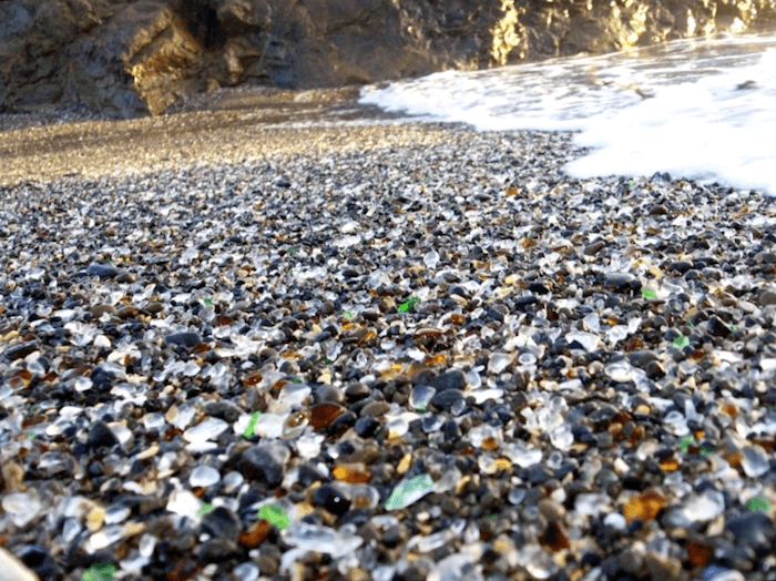 Visitar Estados unidos y descubrir de Glass Beach