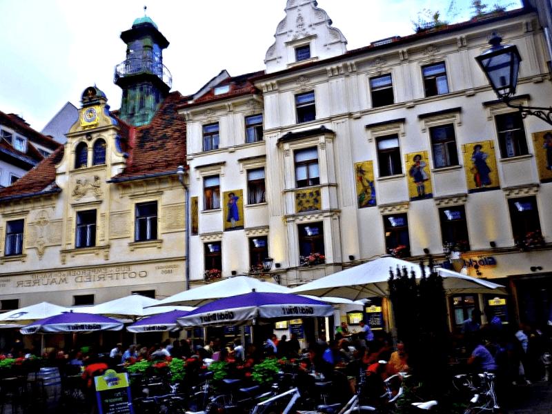 Que descubrir en Glockenspielplatz de Graz