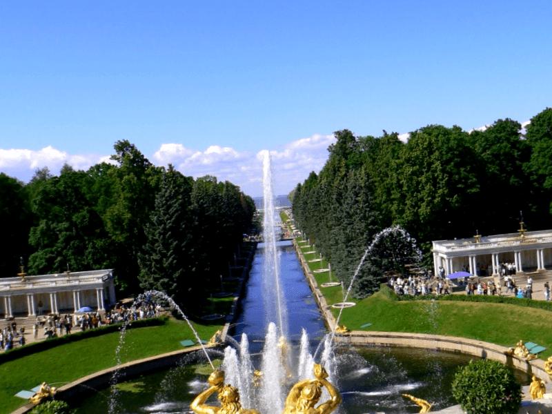 Visitar Gran Cascada de Peterhof