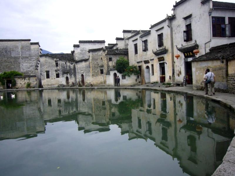 Ver China y maravillarse de Hongcun