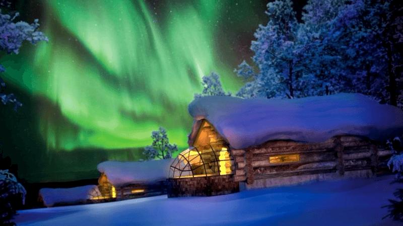 Hotel Kakslauttanen que visitar