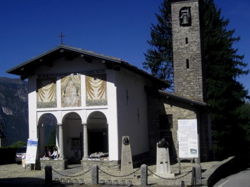 Que visitar en Iglesia Madonna dei Ghisallo