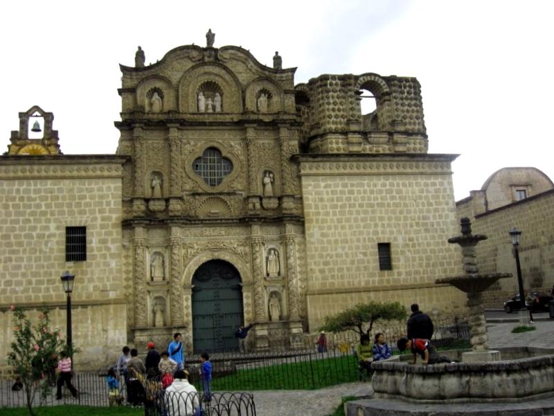 Ver Peru y maravillarse de Iglesia de Belen de Cajamarca