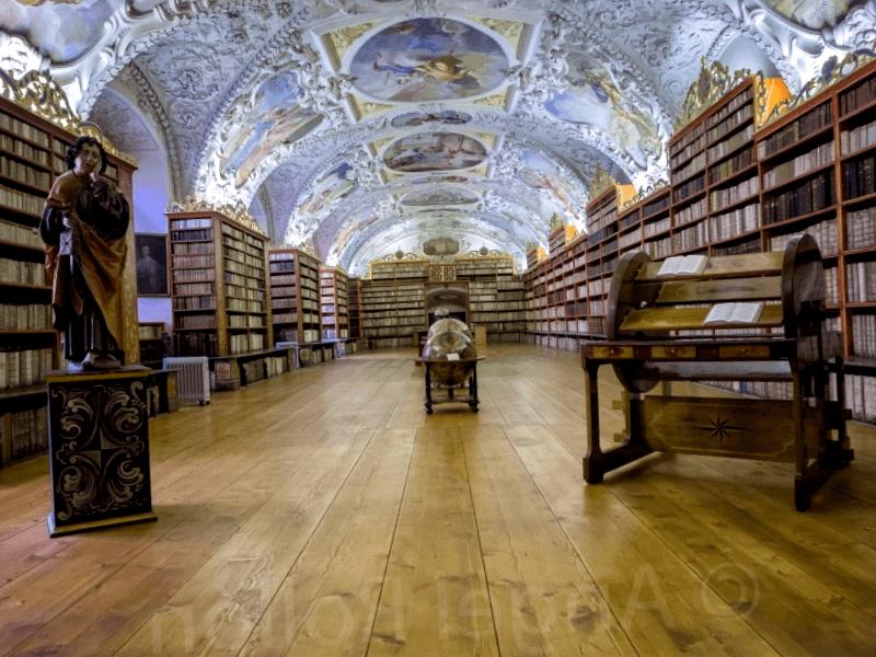 Interior Monasterio de Strahov que visitar