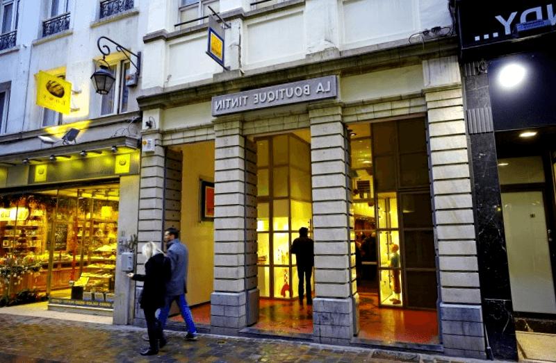 Conocer La Boutique de Tintin