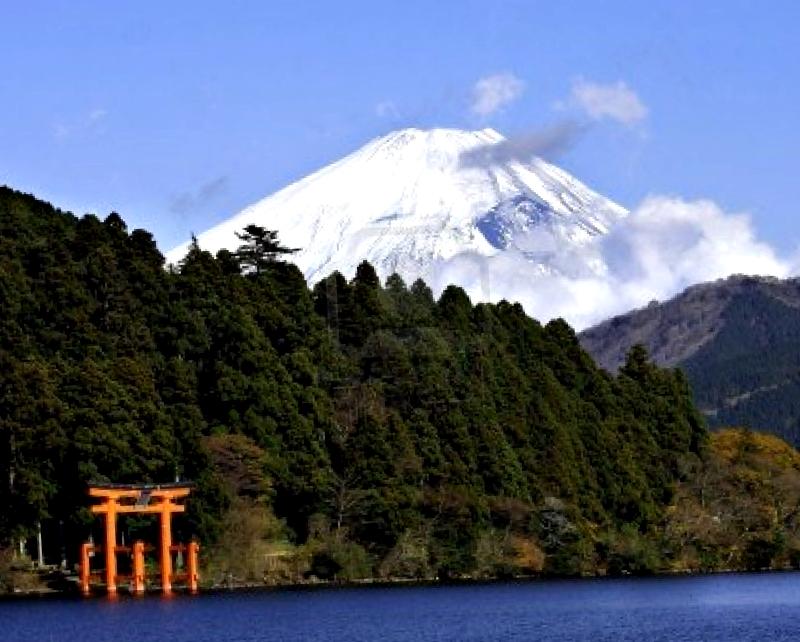 Conocer Japon y descubrir de Lago Ashi