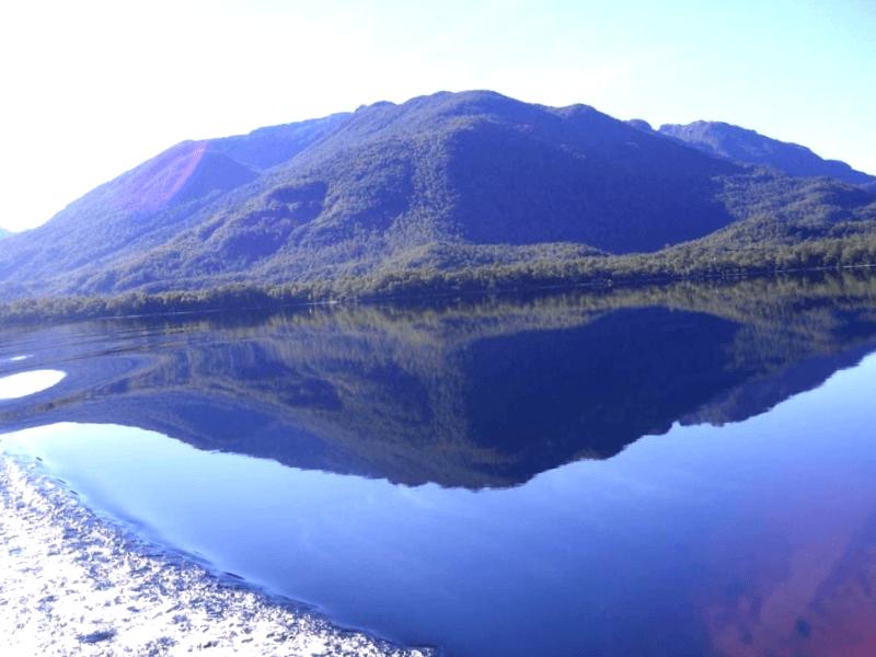 Lago Espejo que descubrir