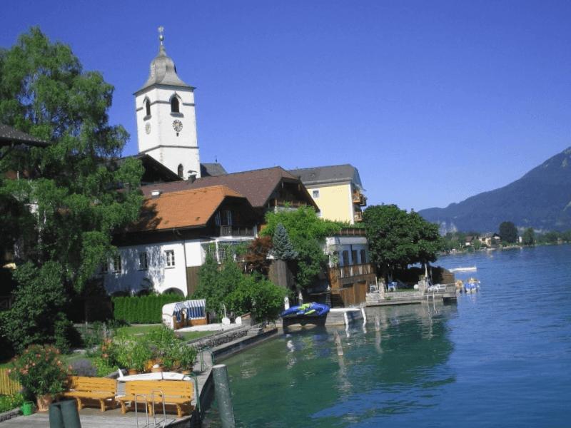Que visitar en Lago Wolfgang