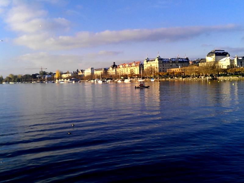 Lago de Zurich que ver