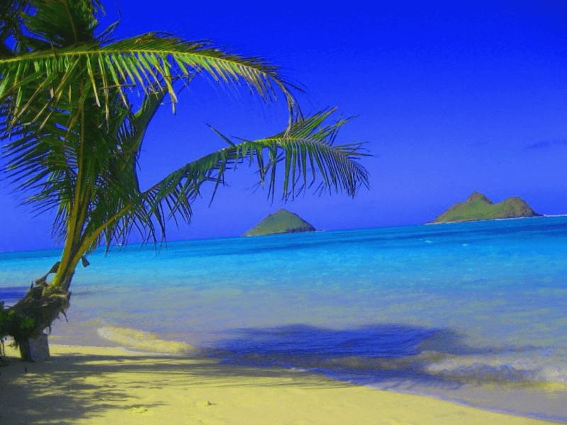 Conocer Estados unidos y maravillarse de Lanikai Beach