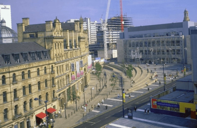 Manchester Exchange Square que debemos ver