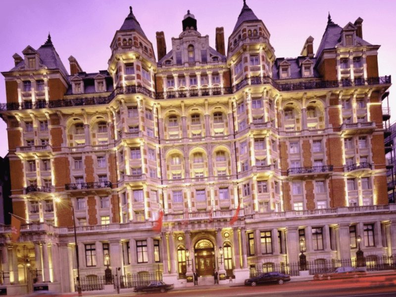 Conocer Inglaterra y descubrir de Mandarin Oriental Hyde Park Hotel