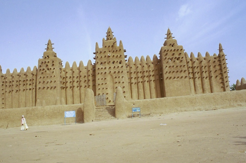 Visitar Mezquita de Djngareyber