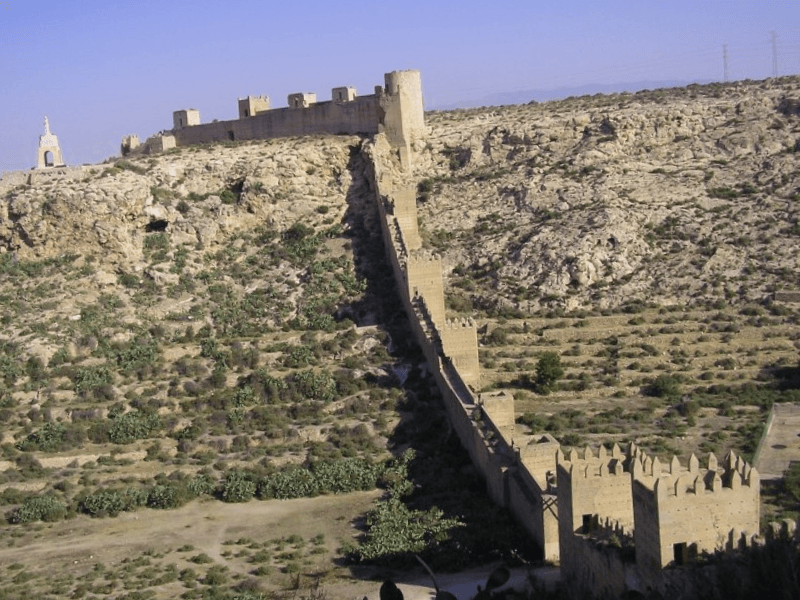Ver España y descubrir de Muralla de Jayran