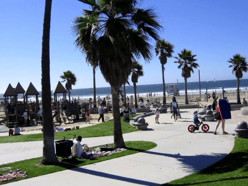 Conocer Estados unidos y maravillarse de Ocean Front Walk