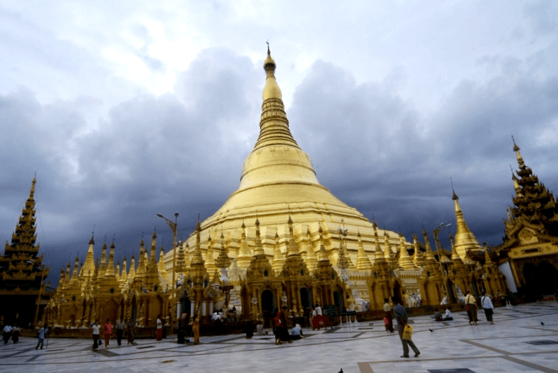 Pagoda Shwedagon que descubrir