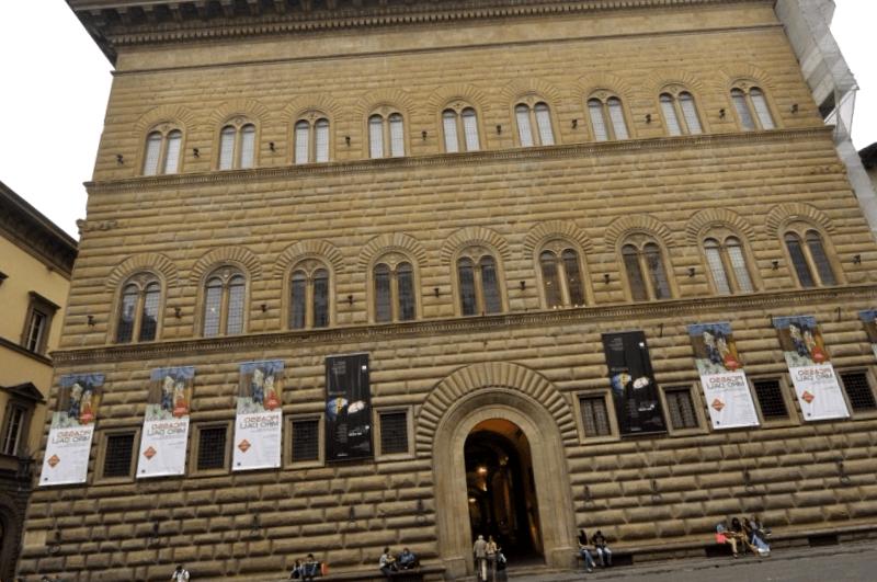 Que descubrir en Palacio Strozzi