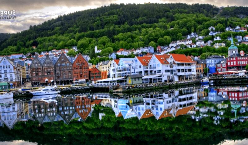 Panoramica de Bergen que descubrir