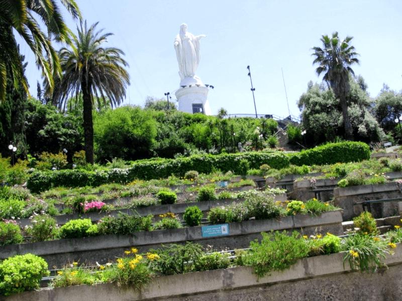 Visitar Chile y descubrir de Parque Metropolitano