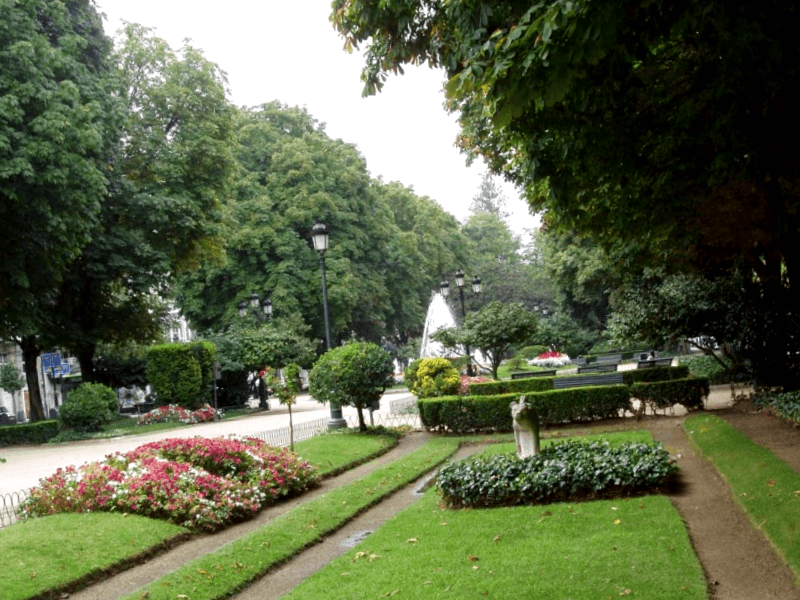Que ver en Paseo de La Alameda de Vigo