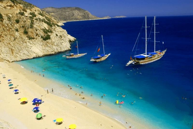 Conocer Turquia y descubrir de Playa Kaputas
