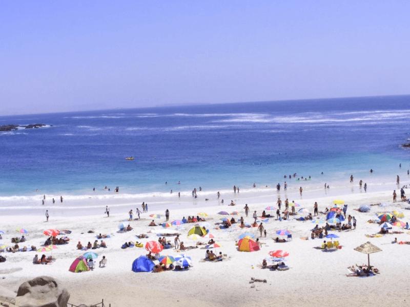 Visitar Chile y maravillarse de Playa La Virgen