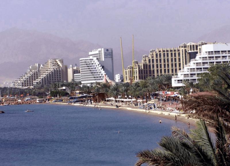 Ver Israel y maravillarse de Playa Norte de Eilat
