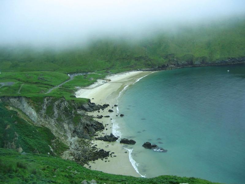 Que visitar en Playa en isla de Achill