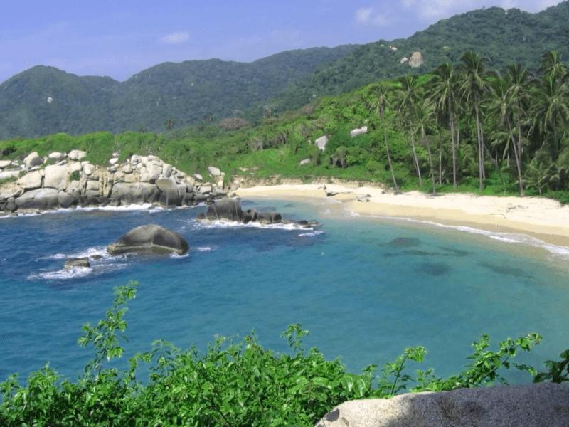 Playas de Santa Marta que ver