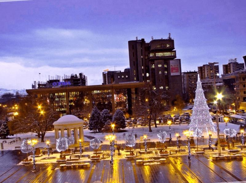 Visitar Plaza Macedonia