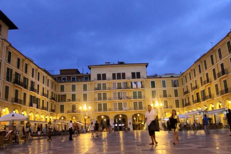 Visitar España y descubrir de Plaza Mayor de Palma