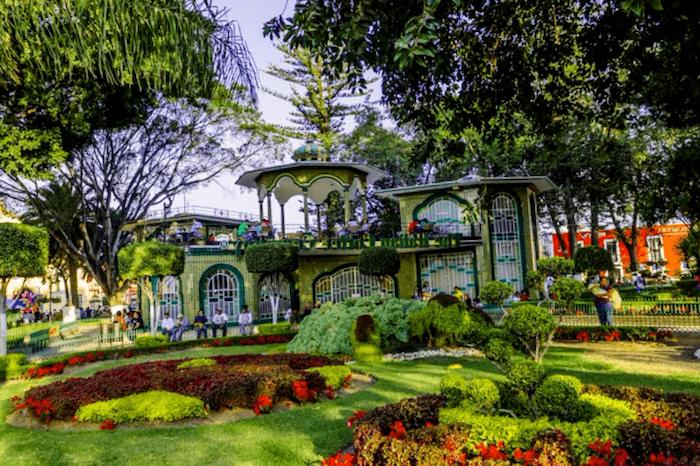 Visitar Mexico y maravillarse de Plaza de Armas de Atlixco