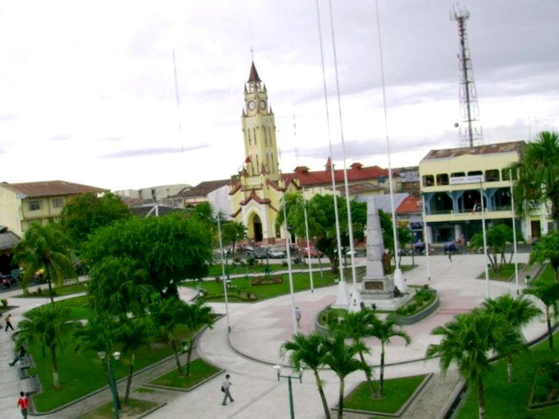 Ver Peru y maravillarse de Plaza de Armas de Iquitos