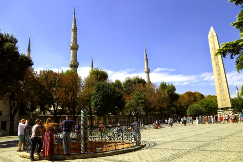 Ver Turquia y maravillarse de Plaza de Sultanahmed