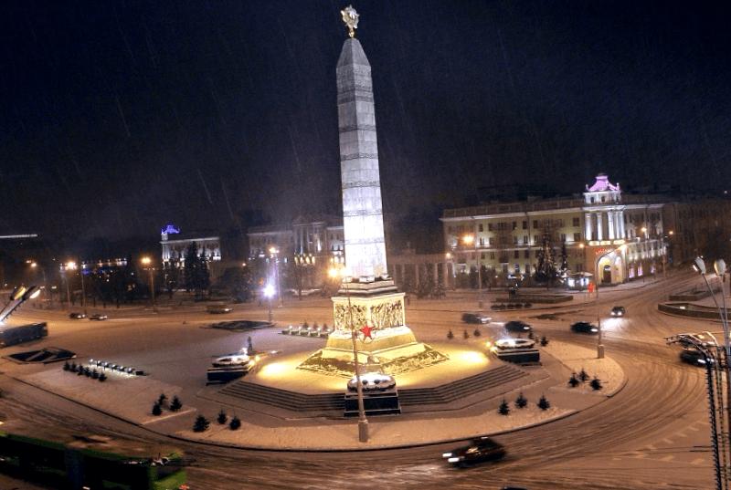 Ver Bielorrusia y maravillarse de Plaza de la Victoria