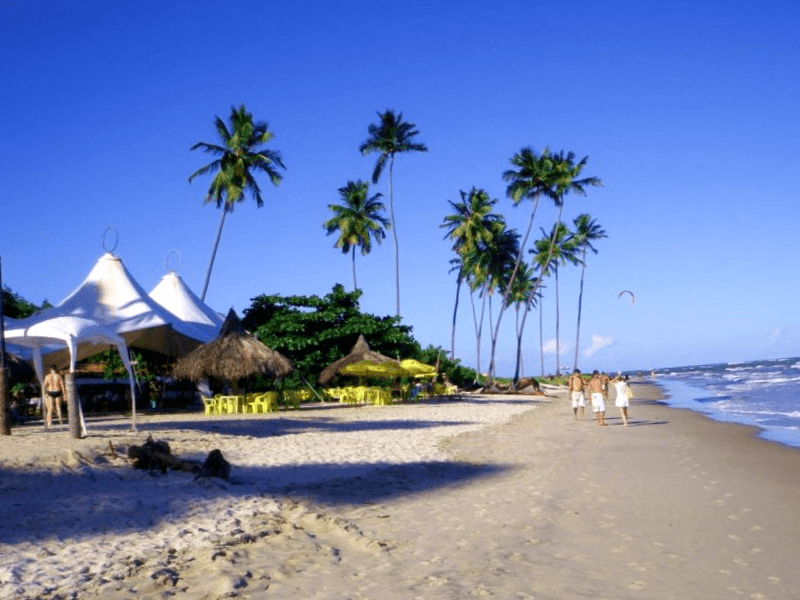 Visitar Brasil y descubrir de Praia de Maracaipe