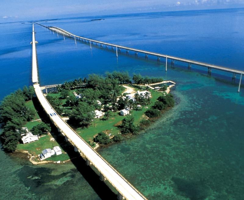 Conocer Estados unidos y descubrir de Puente Siete Millas