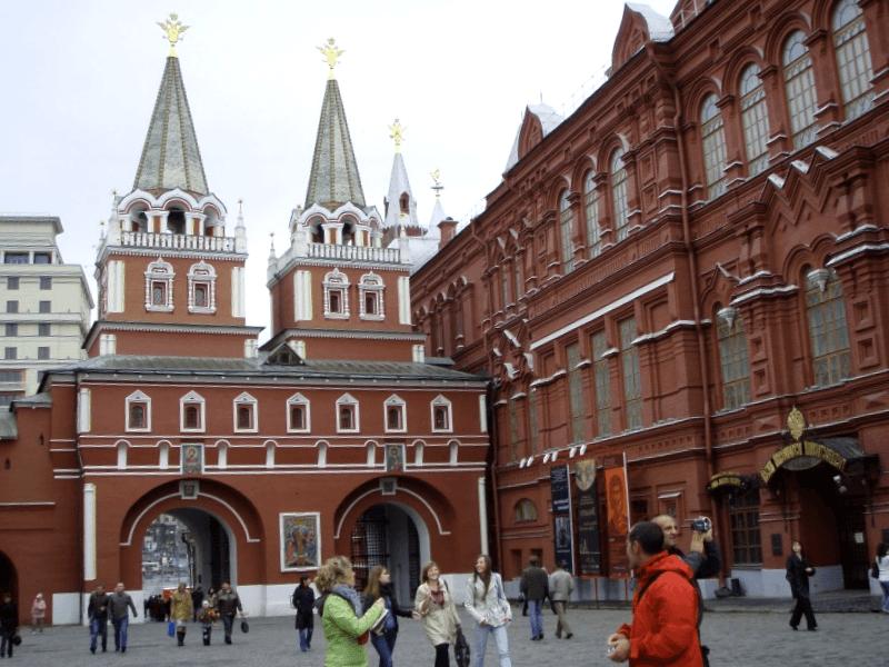 Ver Rusia y maravillarse de Puerta de la Resurreccion