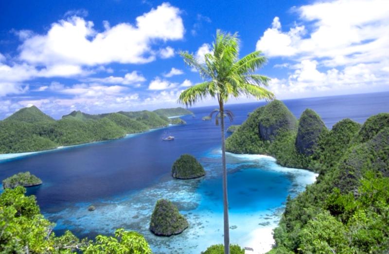 Ver Indonesia y maravillarse de Raja Ampat