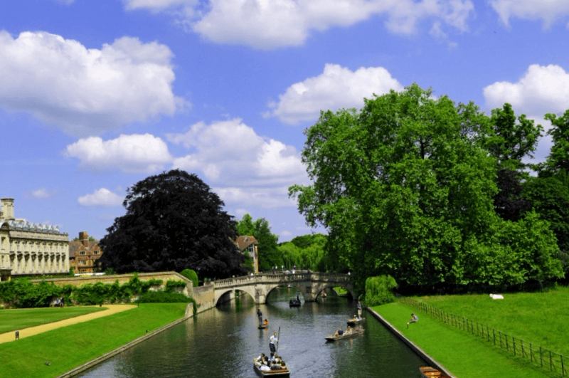 Visitar Inglaterra y descubrir de Rio Cam