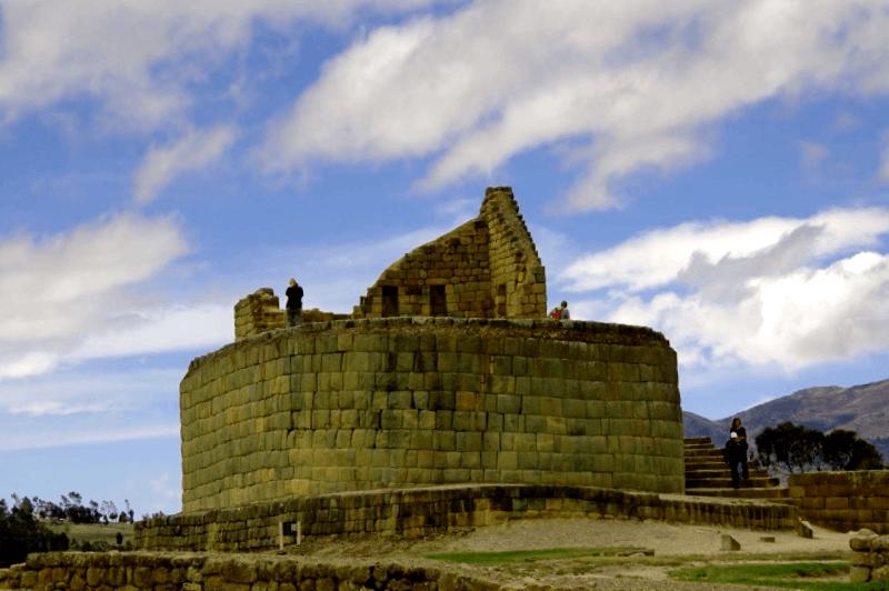 Conocer Ecuador y descubrir de Ruinas arqueologicas de Ingapirca