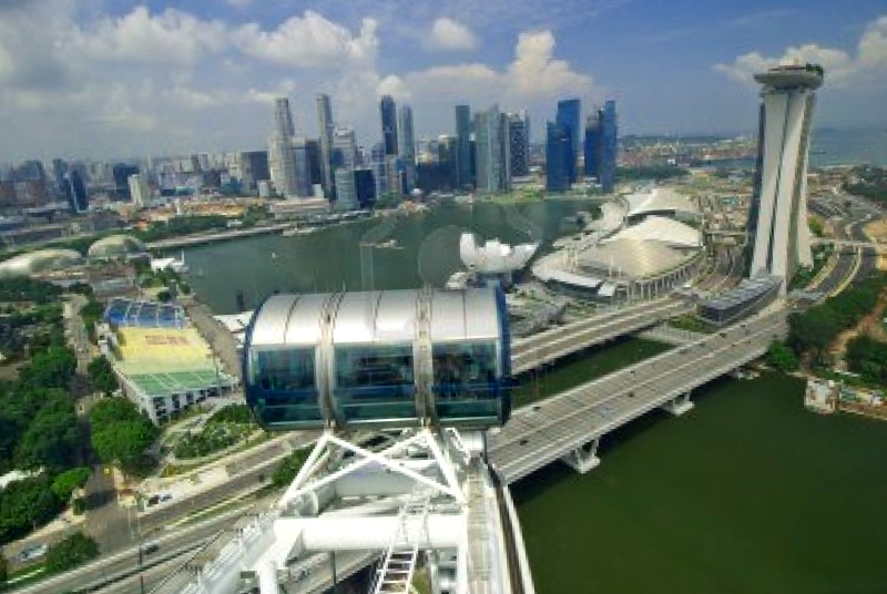 Singapore Flyer que ver