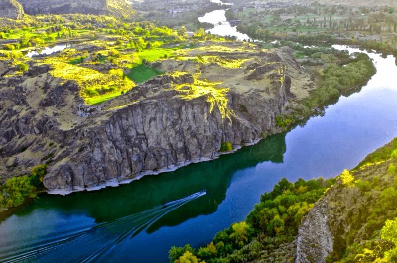Conocer Estados unidos y descubrir de Snake River Canyon