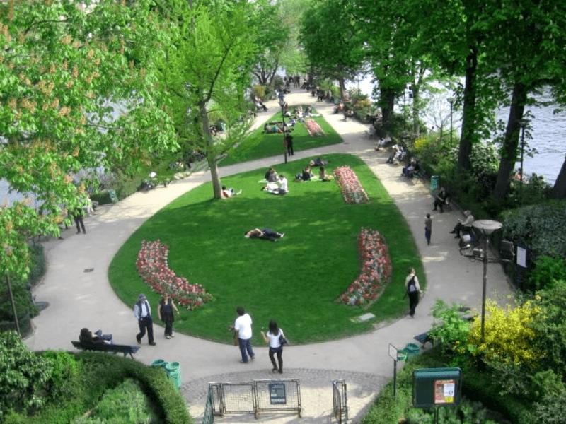 Ver Francia y descubrir de Square du Bert-Galant