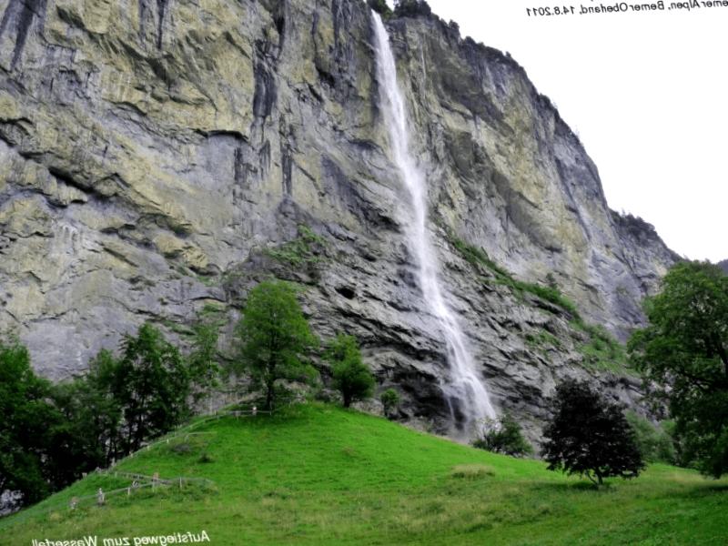 Visitar Staubbach fall