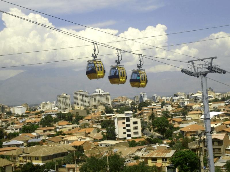 Visitar Teleferico de Cochabamba